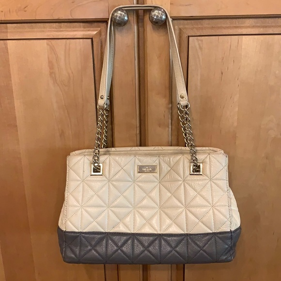 Kate Spade leather bag - quilted leather $189